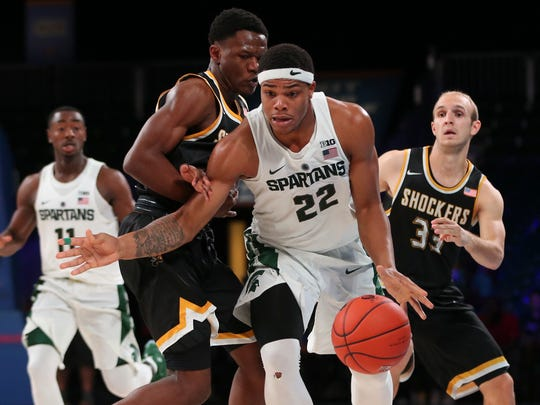 In the national mix: Both Michigan State and Wichita