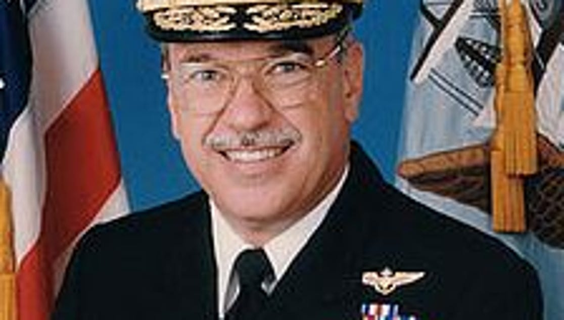 Family, friends say goodbye to Rear Admiral Kevin Delaney