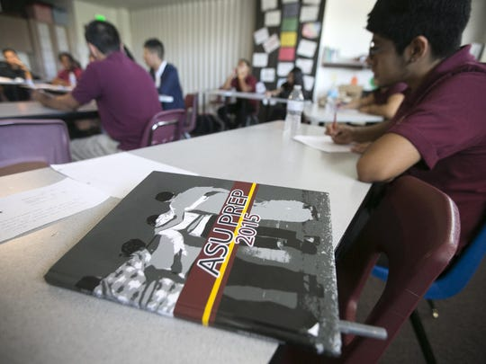 ASU Prep leases space from Phoenix Elementary School District in a setup that benefits both.