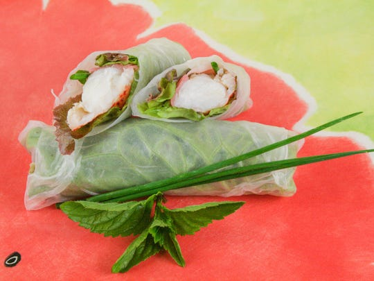Vietnamese spring rolls are a great way of using up lettuce leaves. You can use a variety of stuffing ingredients and roll them in a lettuce leaf and spring roll wrapper.