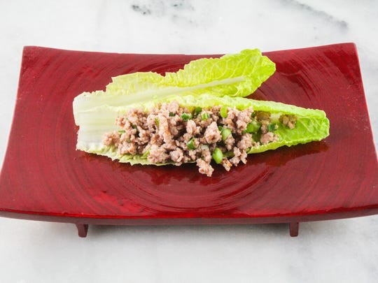 The popular Thai dish larb is easy to make, and it's basically a wrap that uses lettuce leaves.