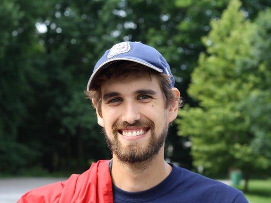 Nate Cyrus, Land Stewardship Coordinator.