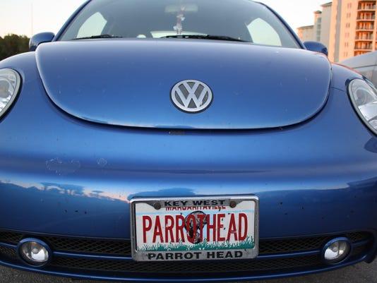 parrothead car