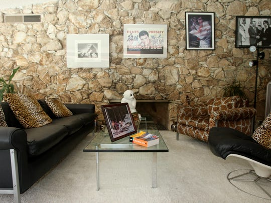 A tour of the Elvis Honeymoon Hideaway on Tuesday, June 29, 2010 in Palm Springs, Calif.