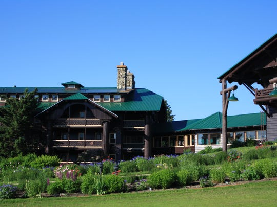 The gardens at Glacier Park Lodge have been a favorite feature since 1914.
