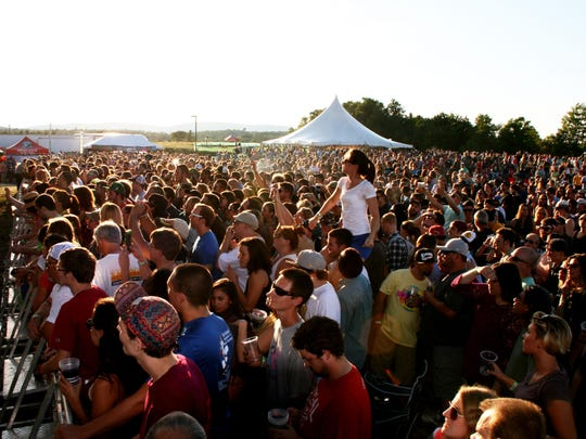 A scene from last year's festival at the Woodchuck