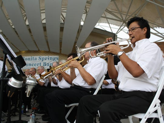 """The Bonita Springs Concert Band has its """"Our American Heroes"""" tribute of patriotic music on Nov. 1."""