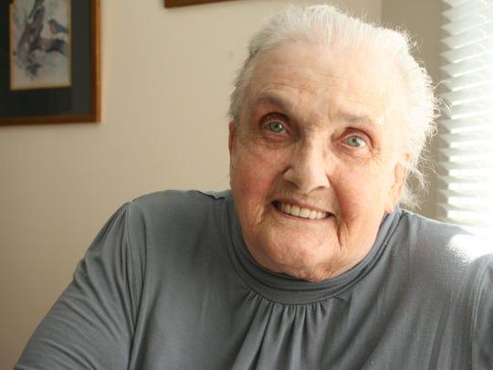 Betty Brauer recalls a molasses-making process involving