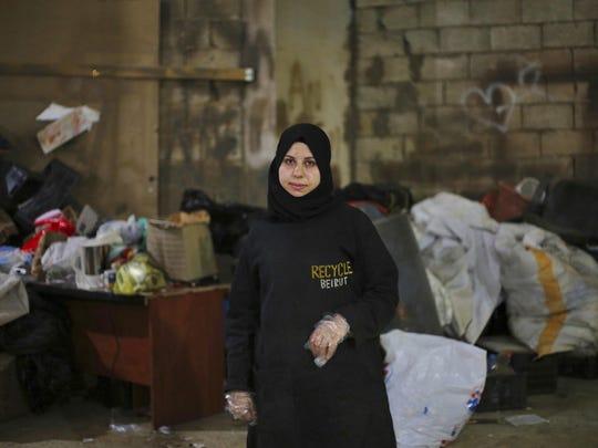 Syrian refugee Haela Kalawi, 31, has learned to be a breadwinner.