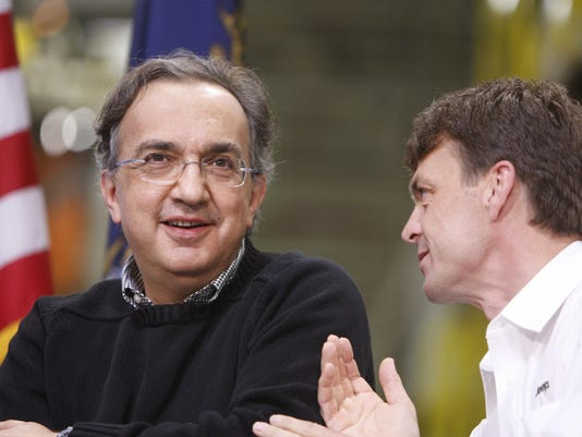 Sergio Marchionne,Mike Manley