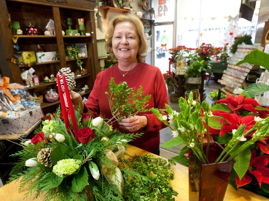 Debbie Reader has owned Village Florist in Toms River for 30 years.