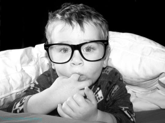"""Vermont Creative Photography Challenge winner for """"Caption This"""" My son Jackson, 2."""