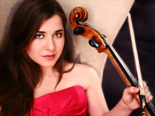 Cellist Alisa Weilerstein performs with her husband, the conductor Rafael Payare.