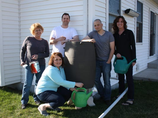 Team Fondy Five Installs Rain Barrels.JPG