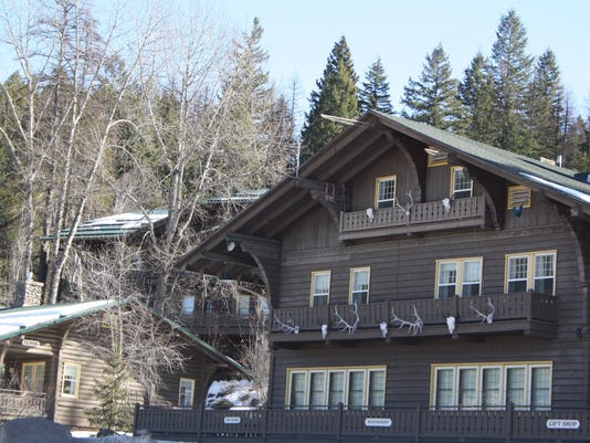 The Belton Chalet has welcomed visitors to the park since 1910. Grisak.JPG