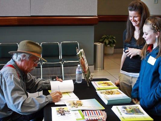 Vaughn Wilson book signing