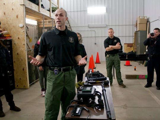 The ongoing Citizens Police Academy touched on Ithaca's SWAT and CINT teams.