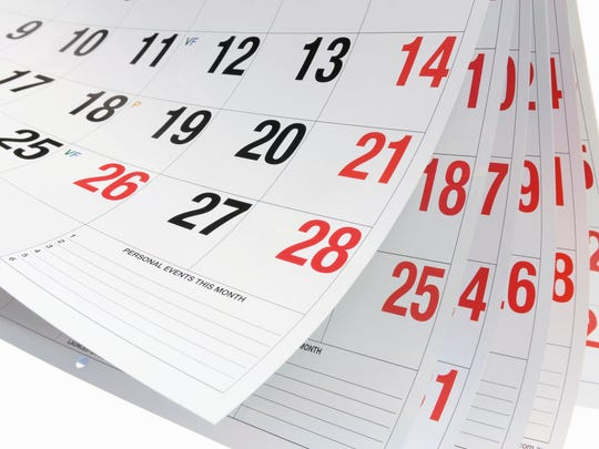 sunstock via Getty Images/iStockphoto Never missed a day for 13 years. Calendar Pages