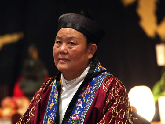 Wu Cheng Zhen, the first female abbot of the famed Changchun Taoist Temple, got to take her rites in New Jersey on Saturday.