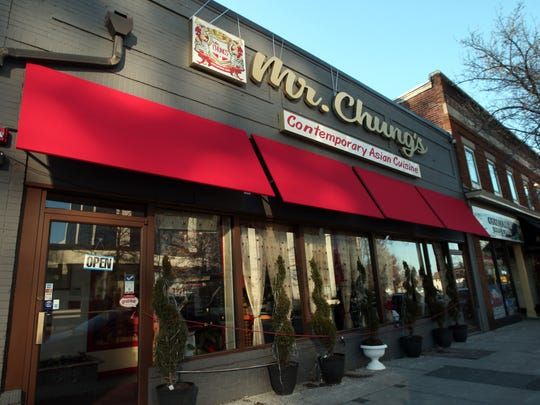 Mr. Chung's Contemporary Asian Cuisine on Speedwell Avenue in Morristown.
