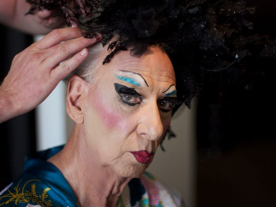"""Cathedral City resident James """"Gypsy"""" Haake will be performing a part of Carnival Cabaret at Oscar's Cafe & Bar during New Year's Eve."""