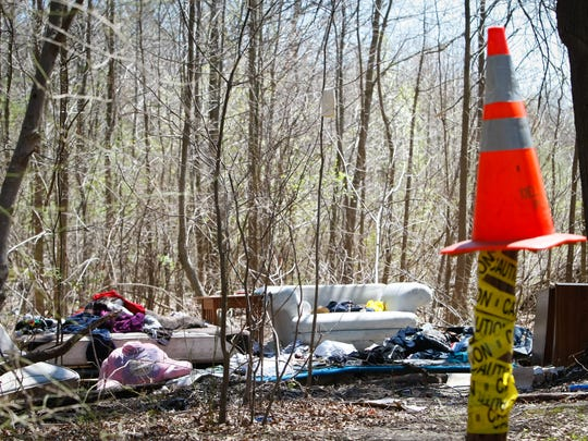 The encampment will be cleared out by week's end, New Castle County officials said Wednesday.