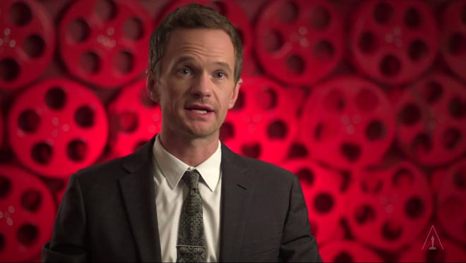 Hosting Oscars is hard work. Neil Patrick Harris may not do it again. Screen grab from YouTube video Oscars is like hosting a dinner party according to Neil Patrick Harris. He talked about preparing for role in YouTube video.