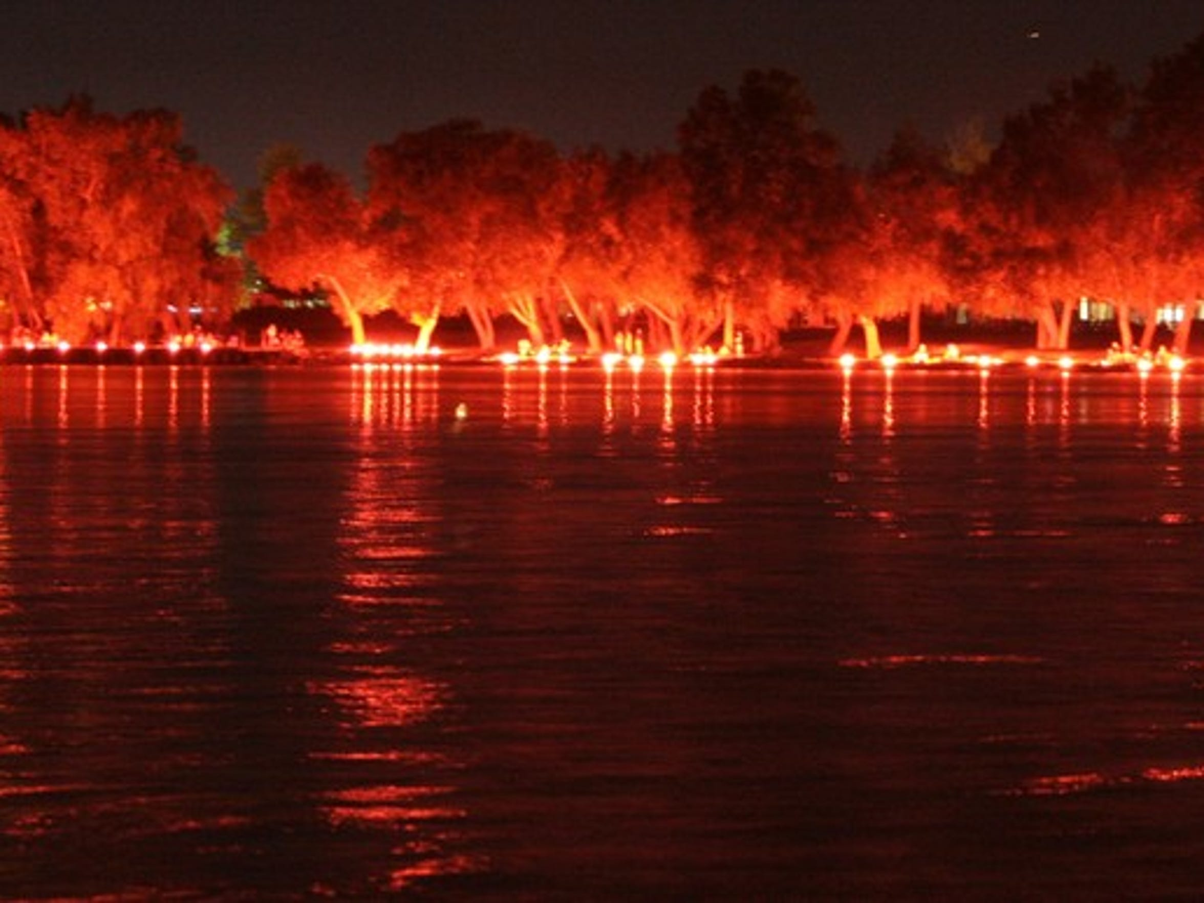 The Ring of Fire takes place along the Finger Lakes to celebrate the unofficial end of summer.