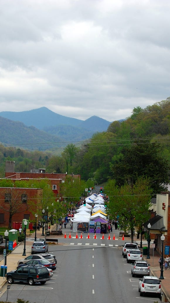 The 20th annual Greening Up the Mountain Festival is on Earth Day, April 22, in Sylva.