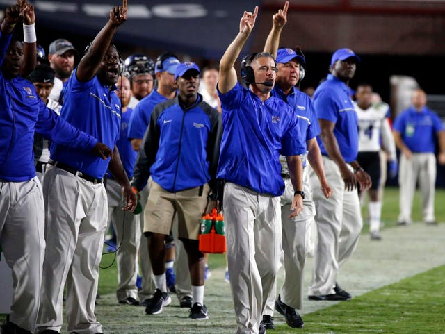 Memphis football vs  UCLA to kick off at 11 a m  on ABC
