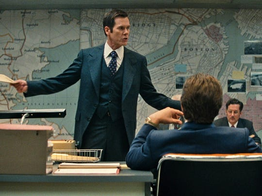 """Kevin Bacon appears in a scene from """"Black Mass."""""""