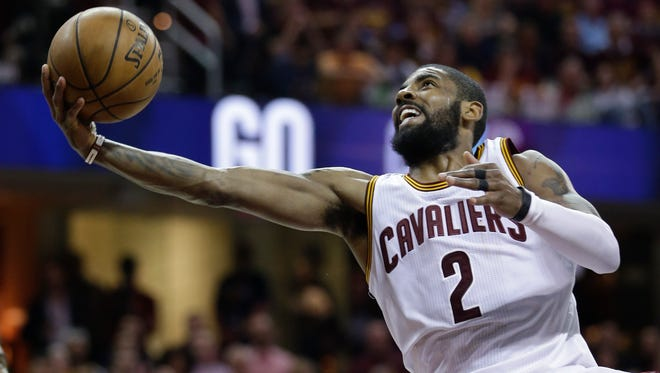 Kyrie Irving (2) isn't LeBron James, but he is perhaps Cleveland's best player in the clutch.
