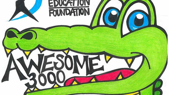 Fallon Dunham of McNary High School created this logo for the 2016 Awesome 3000 art contest.