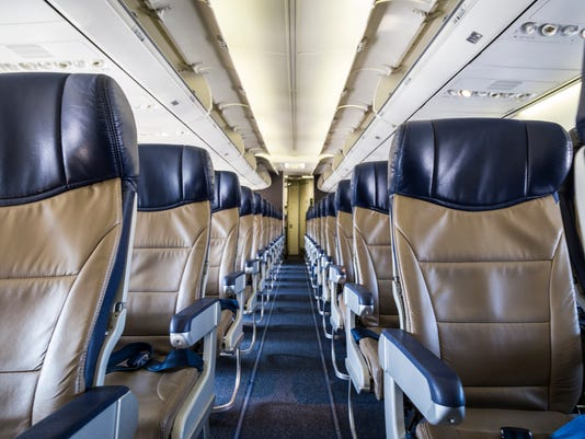 Aisle Seats in an airplane