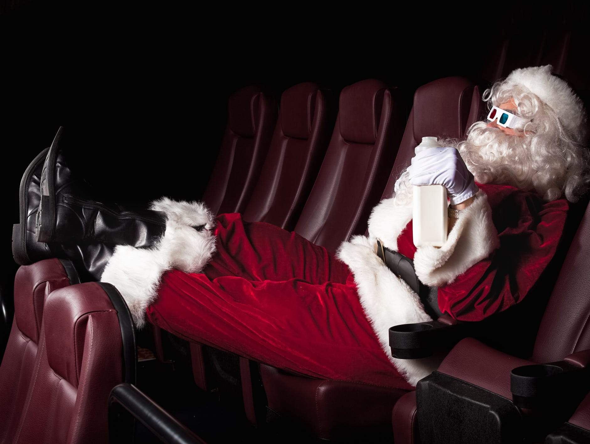 Santa is sending you to the movies! Win a $100 to catch a hot summer flick. Enter 7/16-7/31