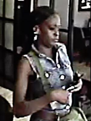 Tallahassee police are searching for a woman suspected of helping rob Gulf Winds Credit Union on Mahan Drive on Sept. 21.