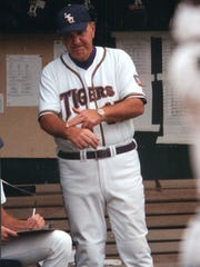 Former LSU head coach Skip Bertman led the Tigers to the College World Series in 1986.