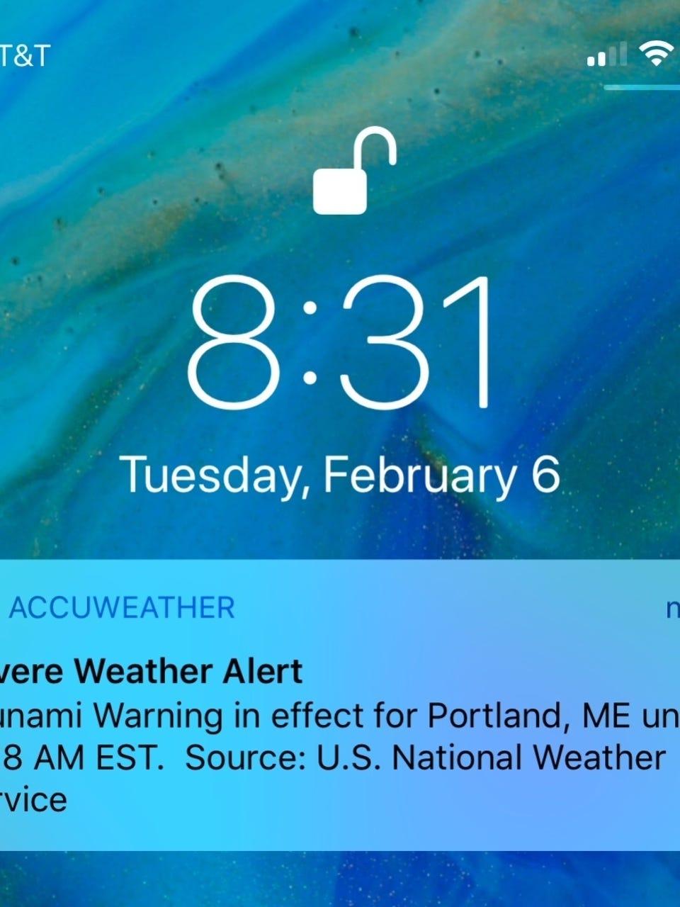 Botched Tsunami Warning Test Sparks Weather War Of Words