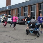 'Amazing women' pound the pavement in Battle Creek