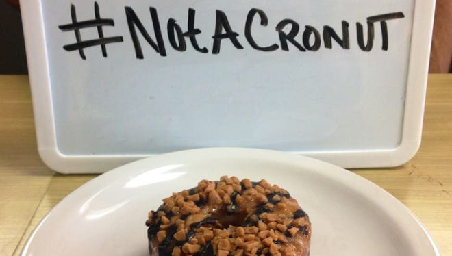 "Rounds Bakery received cease-and-desist letter from a New York law firm demanding that it end the ""use of the word 'cronut.'"