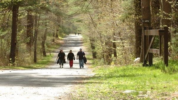 The Fall River Bioreserve offers wonderful opportunities for hiking, trail running and mountain bicycling.