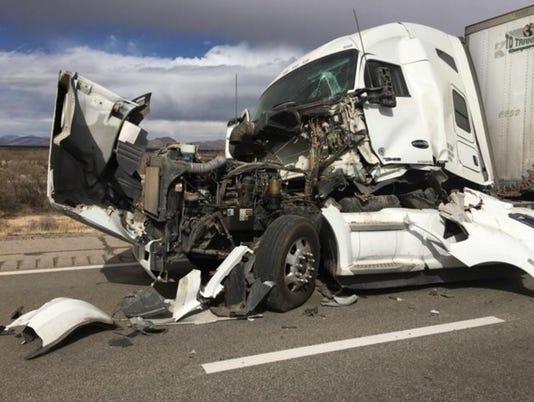 Crash closes Interstate 10