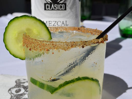 The mezcal me, anytime at The Frog and the Peach.