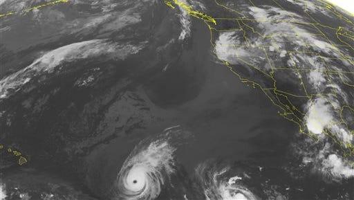 NOAA satellite image taken Tuesday, Aug. 5.