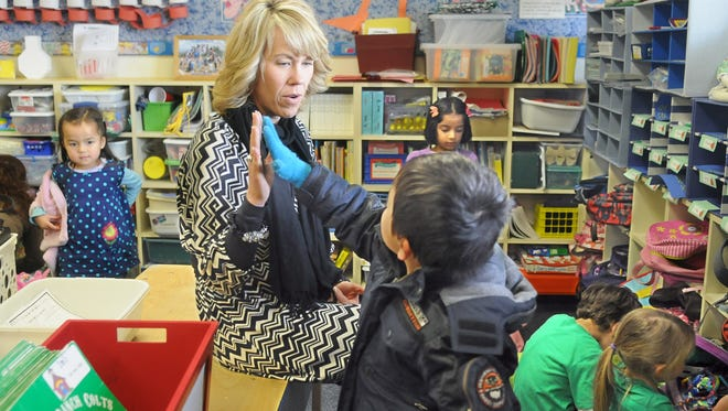 Melissa Thoroughman, principal of Caughlin Ranch Elementary School.
