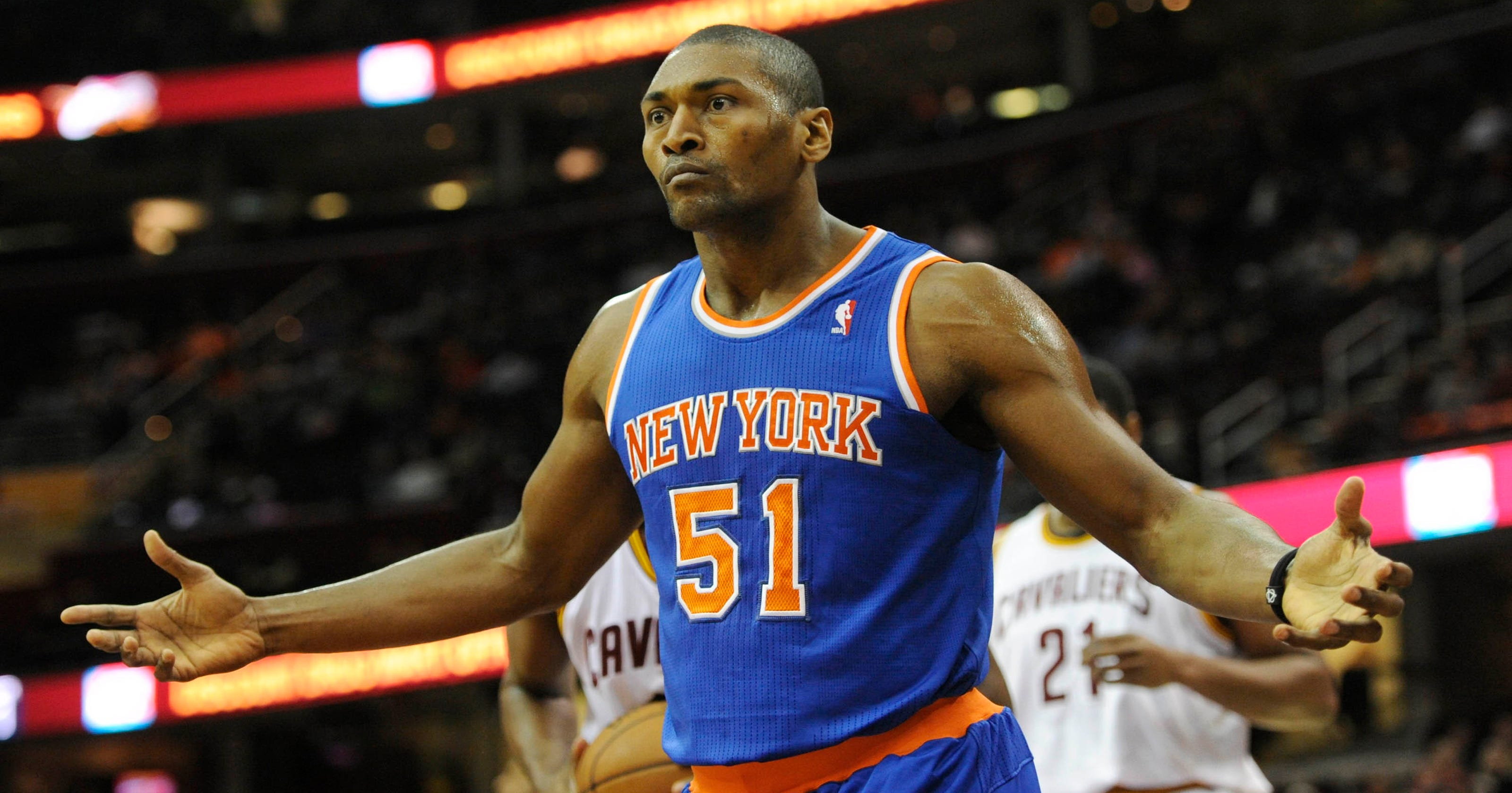 892ed24c891 Metta World Peace ready if Knicks ever want to use him