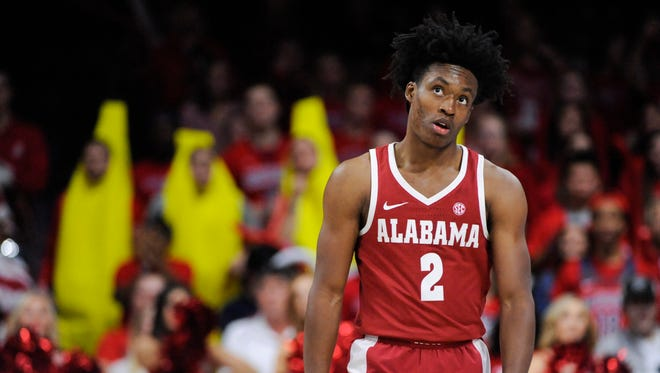 How would Alabama point guard Collin Sexton look in a Suns uniform?