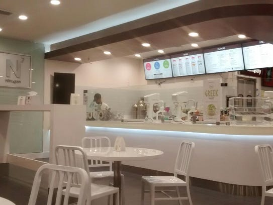 the interior of the new creamistry store in palm desert - Interior Design Palm Desert