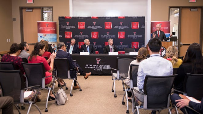 Officials announce a $2 million granOfficials announce on April 19 a $2 million grant from the Cancer Prevention and Research Institute of Texas (CPRIT) will allow Texas Tech University Health Sciences Center El Paso (TTUHSC El Paso) to create a new lab focusing on breast cancer.t from the Cancer Prevention and Research Institute of Texas (CPRIT) will allow Texas Tech University Health Sciences Center El Paso (TTUHSC El Paso) to create a new lab focusing on breast cancer.