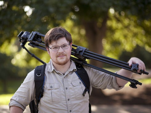 Will Love, 27, seen Aug. 3, 2013, works as a self-employed video producer in Austin and was among those needing to purchase health insurance. The first time he tried to get into the HealthCare.gov system, it booted him out, he says. The second time,